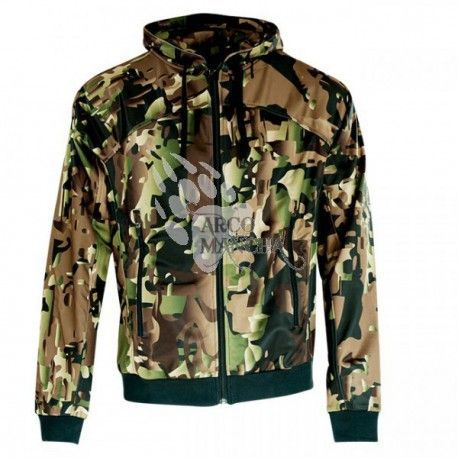 Sudadera Wolverine forest ghost camo