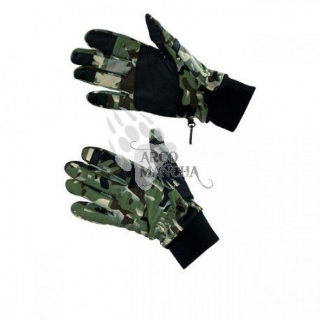 Guantes SnipeNStrike Green Ghost